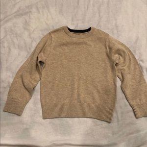 Boys children's Place tan Sweater Size XS